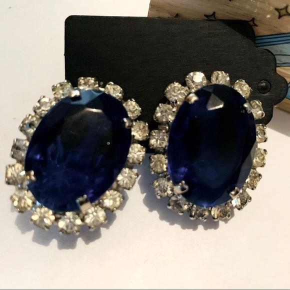 Vintage Statement Clip-On Earrings